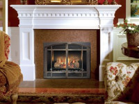 564 HO Dancing Fyre Gas Fireplace