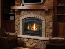 864 HO Dancing Fyre Gas Fireplace