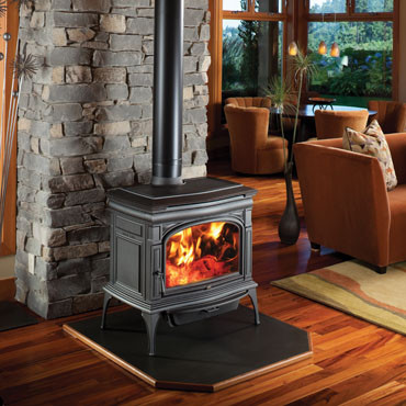 Cape Cod New Iron Wood Stove