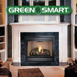 Hearthview 864 TRV GreenSmart Gas Fireplace