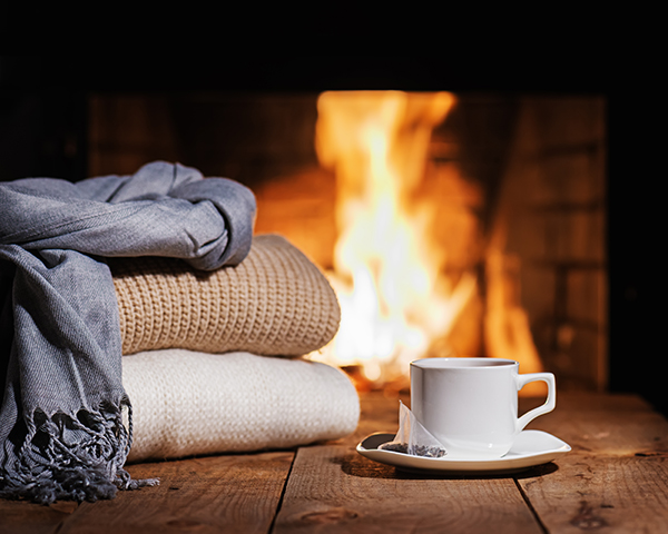 Home is where the hearth is - Behr Necessities fireplaces and woodstoves