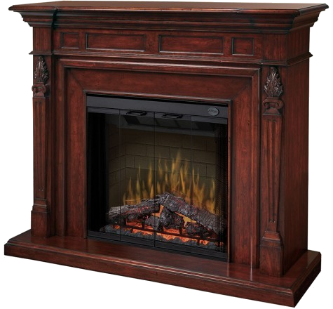 Electric fireplace as fuel option - Behr Necessities