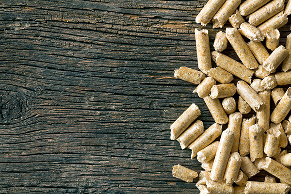 Wood pellets as fuel option for stoves and fireplaces - Behr Necessities